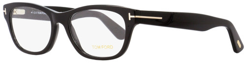 Tom Ford Rectangular Eyeglasses TF5425 001 Black/Gold 53mm FT5425