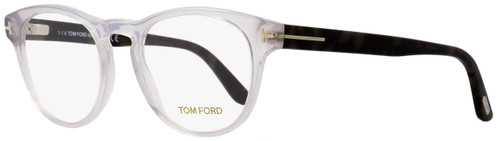 3130e8d852 Tom Ford Oval Eyeglasses TF5426 020 Transparent Gray Gray Havana 49mm FT5426