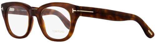 Tom Ford Rectangular Eyeglasses TF5473 053 Blonde Havana/Gold 49mm FT5473