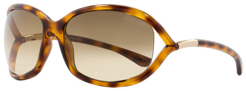 Tom Ford Butterfly Sunglasses TF8 Jennifer 52F Havana 61mm FT0008