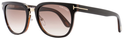 Tom Ford Square Sunglasses TF290 Rock 01F Black/Gold 55mm FT0290