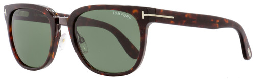 Tom Ford Square Sunglasses TF290 Rock 52N Red Havana/Gunmetal 55mm FT0290