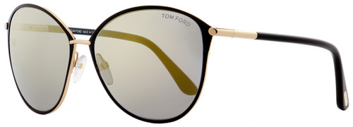 2cd2d3432f9 Tom Ford Oval Sunglasses TF320 Penelope 28C Gold Black 59mm FT0320