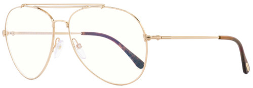 Tom Ford Fashion Frames TF497 Indiana 028 Gold/Brown 60mm FT0497