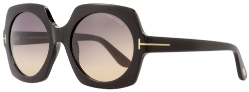 Tom Ford Square Sunglasses TF535 Sofia 01B Black/Gold 57mm FT0535