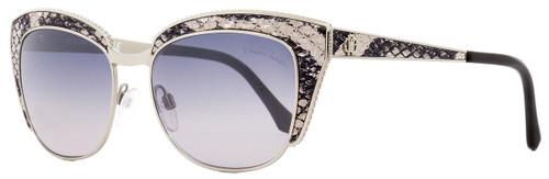 Roberto Cavalli Cateye Sunglasses RC973S Sualocin 16C Palladium/Beige/Black 54mm 973