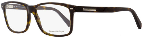 Ermenegildo Zegna Rectangular Eyeglasses EZ5002 053 Blonde Havana 57mm 5002