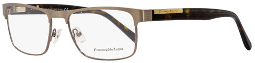 Ermenegildo Zegna Rectangular Eyeglasses EZ5031 034 Light Bronze/Havana 54mm 5031