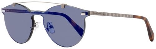 Ermenegildo Zegna Shield Sunglasses EZ0069 20X Ruthenium/Havana 0mm 69