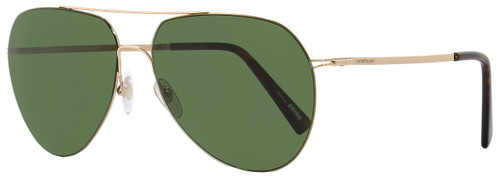 Montblanc Aviator Sunglasses MB595S 28N Gold/Havana 60mm 595