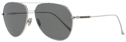 Montblanc Aviator Sunglasses MB657S 16A Palladium 61mm 657