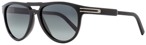 Montblanc Oval Sunglasses MB699S 01A Black 57mm 699
