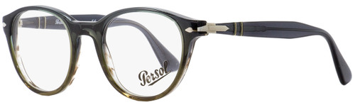 Persol Oval Eyeglasses PO3153V 1012 Green/Blue/Brown 48mm 3153