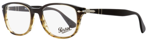 Persol Rectangular Eyeglasses PO3163V 1026 Brown Melange/Gold 54mm 3163