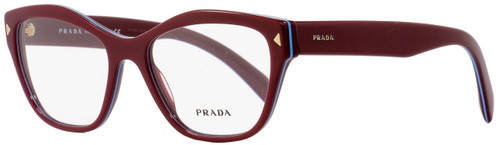 Prada Butterfly Eyeglasses VPR27S UF9-1O1 Amaranth/Azure 53mm PR27SV