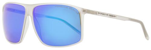 Porsche Design Square Sunglasses P8594 B Matte Crystal 62mm 8594