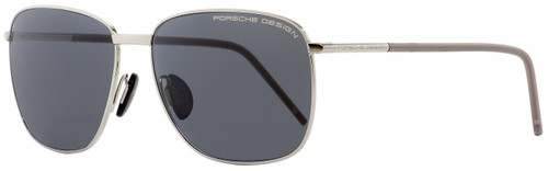 Porsche Design Rectangular Sunglasses P8630 A Palladium 58mm 8630
