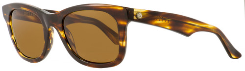 Electric Rectangular Sunglasses Detroit XL EE12110604 Gloss Tortoise Polarized 53mm