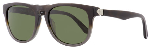 Electric Rectangular Sunglasses Leadbelly EE13355101 Matte Gray/Tortoise 55mm