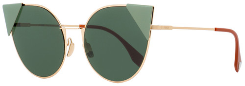 Fendi Round Sunglasses FF0190S DDBO7 Gold/Copper 57mm 190