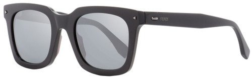 Fendi Rectangular Sunglasses FF0216S KB7T4 Dark Gray 49mm 216