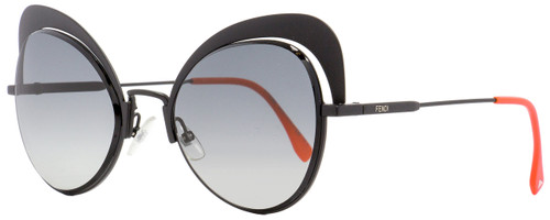 Fendi Oval Sunglasses FF0247S 8079O Black 54mm 247