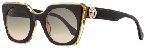 Roberto Cavalli Square Sunglasses RC1068 Greve 05B Black/Transparent Opal 48mm 1068