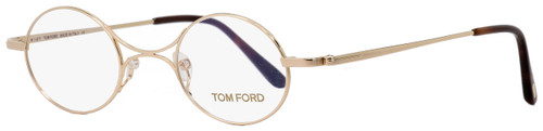 Tom Ford Oval Eyeglasses TF5172 028 Gold/Havana 40mm FT5172