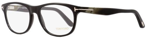 Tom Ford Rectangular Eyeglasses TF5431 001 Shiny Black/Horn 53mm FT5431