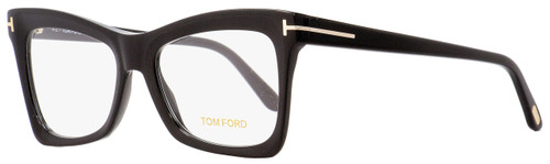 340fd96bf29e Tom Ford Butterfly Eyeglasses TF5457 002 Matte Shiny Black 52mm FT5457  Quick shop