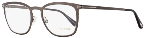 Tom Ford Rectangular Eyeglasses TF5464 012 Shiny Dark Ruthenium 51mm FT5464