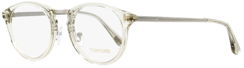 Tom Ford Oval Eyeglasses TF5467 020 Transparent/Palladium 50mm FT5467