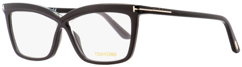 Tom Ford Butterfly Eyeglasses TF5470 001 Black 55mm FT5470