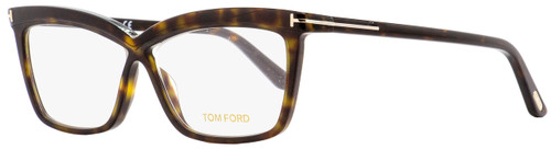 Tom Ford Butterfly Eyeglasses TF5470 052 Dark Havana 55mm FT5470