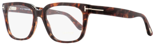 Tom Ford Rectangular Eyeglasses TF5477 054 Red Havana 55mm FT5477