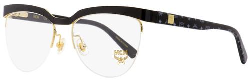 MCM Semi-Rimless Eyeglasses MCM2102 004 Black/Gold 53mm 2102