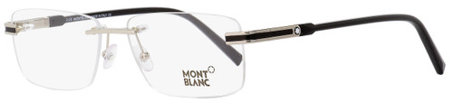 Montblanc Rimless Eyeglasses MB679 016 Palladium/Black 56mm 679
