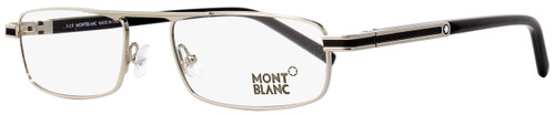 Montblanc Rectangular Eyeglasses MB733 016 Palladium/Black 54mm 733