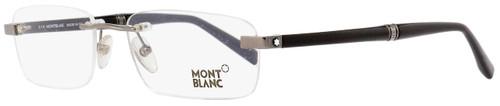 Montblanc Rimless Eyeglasses MB9101 A36 Dark Ruthenium/Black 55mm 9101