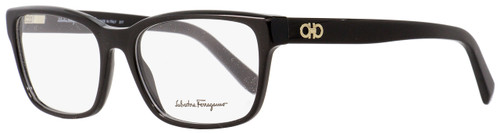 Salvatore Ferragamo Rectangular Eyeglasses SF2790 001 Shiny Black 54mm 2790