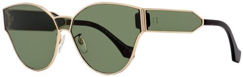 Balenciaga Oval Sunglasses BA96 28N Gold/Havana 65mm BA096