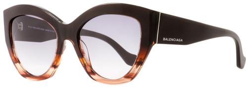 Balenciaga Butterfly Sunglasses BA103 50B Brown/Rose 56mm BA0103