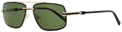 Montblanc Rimless Sunglasses MB658S 32N Gold/Black 59mm 658