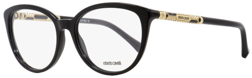 Roberto Cavalli Oval Eyeglasses RC963 Segin 002 Black/Gold 54mm 963