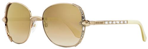 Roberto Cavalli Oval Sunglasses RC974S Subra 28G Gold/Ivory 56mm 974