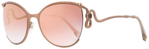 Roberto Cavalli Oval Sunglasses RC1025 Careggine 34U Bronze 59mm 1025
