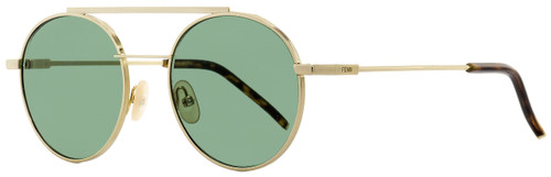 Fendi Round Sunglasses FF0221S J5GQT Gold/Havana 52mm 221