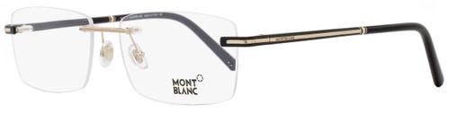 Montblanc Rimless Eyeglasses MB577 001 Black/Gold 57mm 577