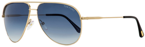 Tom Ford Aviator Sunglasses TF466 Erin 29P Gold/Black