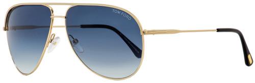 Tom Ford Aviator Sunglasses TF466 Erin 29P Gold/Black